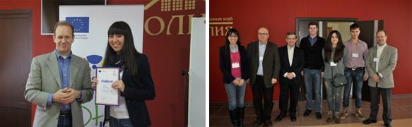 Студентка ПГЛУ приняла участие в Европейской школе