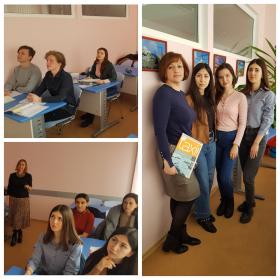 Заседание французского клуба «DOUCE FRANCE» в ИПИМ