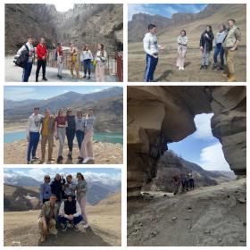 Студенты ИИЯМТ направления подготовки «Туризм» в рамках учебной практики по «Экскурсоведению» побывали в увлекательном путешествии по Кавказу