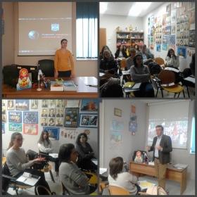 Преподаватель ИИЯМТ провела презентацию ПГУ в Центре русского языка и культуры «Институт Пушкина» в Италии