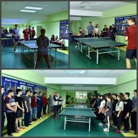 Прошла спартакиада города Пятигорска по настольному теннису