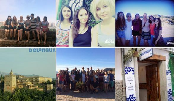 Летняя поездка студентов ИРГЯИиГТ в языковую школу Delengua (г.Гранада, Испания)