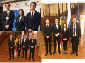 Студенты ИМО приняли участие в международно-практической конференции и были приглашены в резиденцию Посла Бельгии