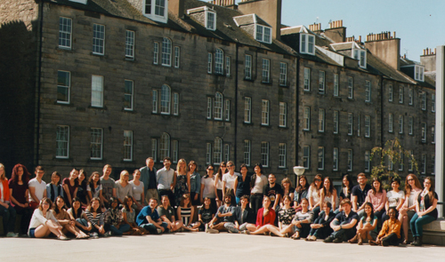 Студенты ИПиМ – в Международной Летней Школе в Эдинбурге