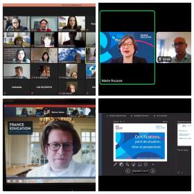 Преподаватель ИРГЯИГТ на образовательном онлайн-семинаре Посольства Франции