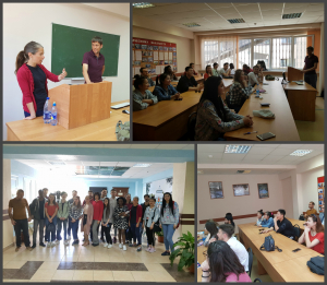 В Центре международного образования ПГУ состоялся круглый стол «Мы за здоровый образ жизни!»