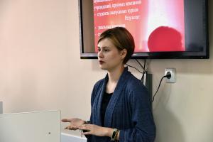 В Юридическом институте ПГУ прошла встреча студентов с выпускницей ПГУ Натальей Беляевой