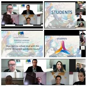 Преподаватели ИИЯМТ приняли участие в онлайн вебинаре EURHODIP «How can my School Deal with the Covid-19 Pandemic Issues?»