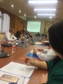 Профессора ИИЯМТ Л.Х. Газгиреева, Л.А. Бурняшева приняли участие в заседании экспертного «круглого» стола