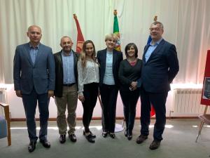 Встреча на высоком уровне в Центре русского языка и культуры «Институт Пушкина» (г. Визеу, Португалия)