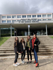 Студенты магистратуры ИРГЯИГТ проходят обучение по программе двух дипломов в Университете Лиможа (Франция)