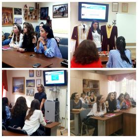 Проект «Жизнь замечательных людей» в Центре армянского языка и культуры ПГУ