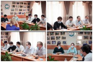 Доц. ПГУ М.А.Ибрагимов поделился опытом нашего университета на городском круглом столе «Мы против терроризма»