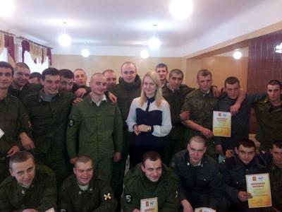 Студенты ВШ ПУИМ посетили воинскую часть №7427