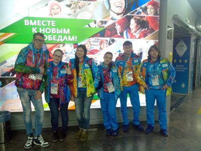 Волонтеры ПГЛУ отправились работать на Паралимпийских играх в Сочи