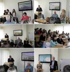 Встреча студентов ИЛКМИТ с представителями делегации из немецкого города Шверте