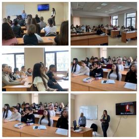 В ВШДИА было проведено мероприятие «Терроризм глазами студентов»