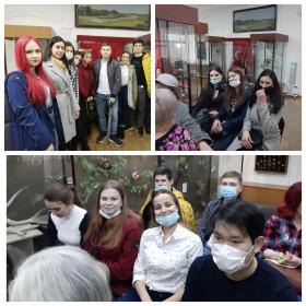 Студенты ИИЯМТ посетили Пятигорский музей краеведения