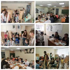 В ВШДИА прошел мастер-класс по акварельной живописи для сотрудников вуза
