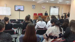 Встреча студентов 2-3 курсов Института международных отношений с руководством МИАНО