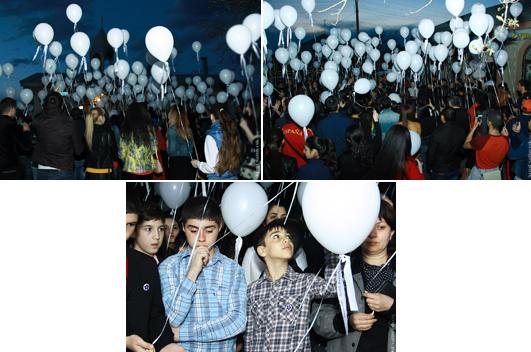 Центр армянского языка и культуры ИМСТИЯ принял участие в акции «Бессмертные души»