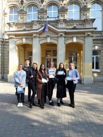 Студенты ИИЯМТ ПГУ приняли участие в международной просветительской акции «Географический диктант»