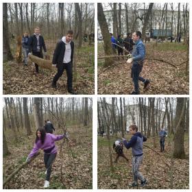 Студенты ИИЯМТ приняли участие в ежегодной экологической акции