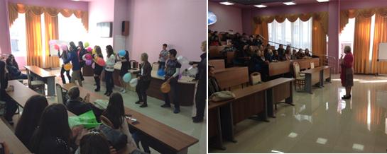 Вручение студенческих билетов в ИМСТИЯ ПГЛУ