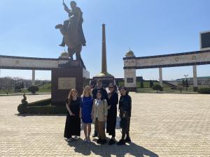Ознакомительная поездка в город Грозный