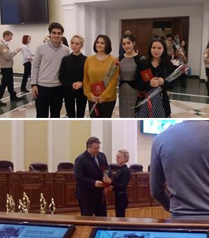 Студенты и аспиранты ПГЛУ в числе лучших представителей молодежи Ставропольского края