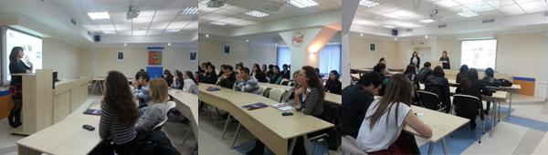 Практико-ориентированная лекция студентов ВШ ПУИМ