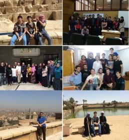 Студенты ИПиМ прошли стажировку в Египте