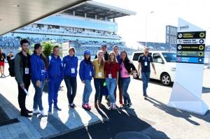 Волонтеры ПГЛУ приняли участие в организации Гран-при России Формулы-1