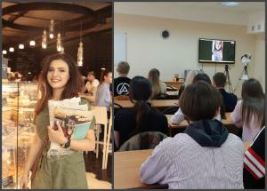 Мастер-класс от выпускницы ИМО Анжелины Григорян