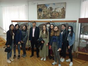 Студенты ИИЯМТ на экскурсии «Страницы истории Пятигорья»