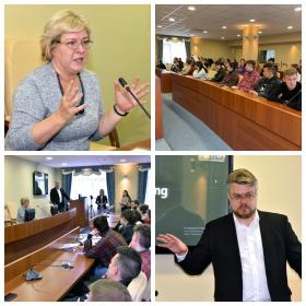 Российские и зарубежные медиаэксперты выступили с лекциями для будущих специалистов медийной сферы