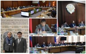 Доцент ПГУ Мурад Ибрагимов с докладом на Межрегиональном семинар-совещании по противодействию экстремизму и терроризму