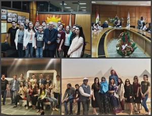 Студенты ПГУ проходят языковую стажировку в Асьютском университете по программе межвузовского сотрудничества