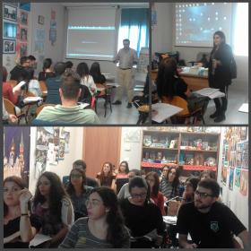 Преподаватель ИИЯМТ провел презентацию ПГУ в Центре русского языка и культуры «Институт Пушкина» в Италии