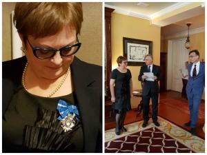 Награда короля Испании директору ИРГЯИиГТ Е.Н. Пронченко