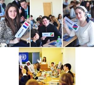 Студенты ПГЛУ на Модели ООН МГУ