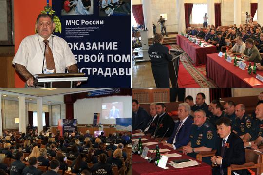Профессор А.П.Горбунов и директор ИЧ профессор И.В.Боязитова представили вуз в научно-практической конференции