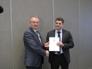 ФГБОУ ВПО «ПГЛУ» приняли в члены Ассоциации юридического образования (АЮРО)
